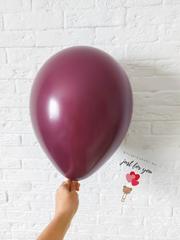 Воздушный шар бургундия