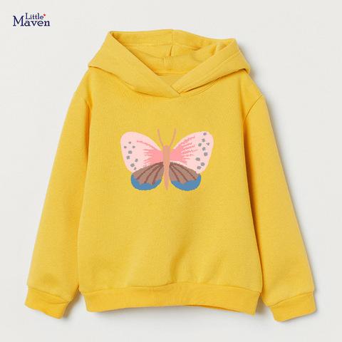 Свитшот для девочки Little Maven Бабочка