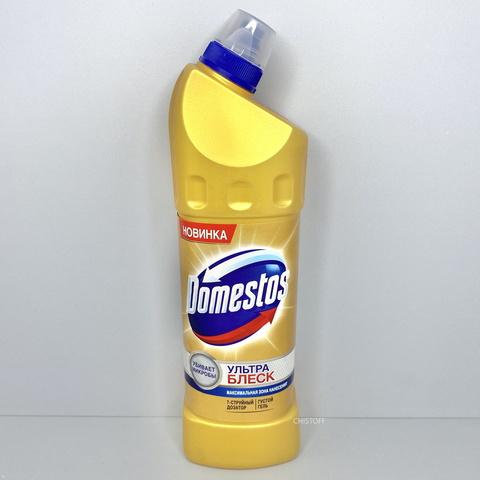 Гель для чистки унитаза Domestos Ультра блеск 1 л
