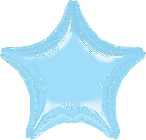 Воздушный шар Звезда (Голубая)