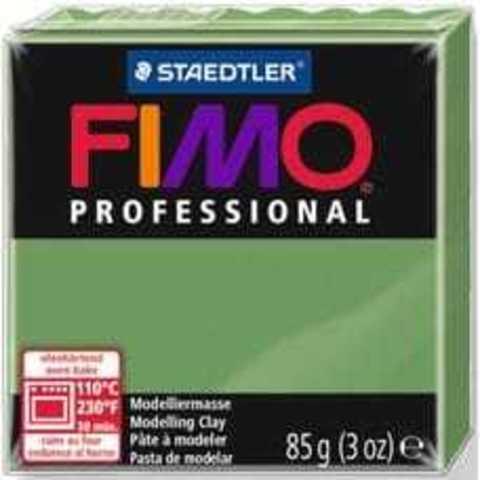 Fimo Professional зеленый лист