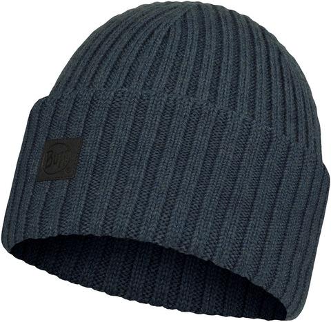 Вязаная шерстяная шапка Buff Hat Wool Knitted Ervin Denim фото 1