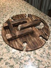 Складной столик для вина на 4 персоны, фото 2