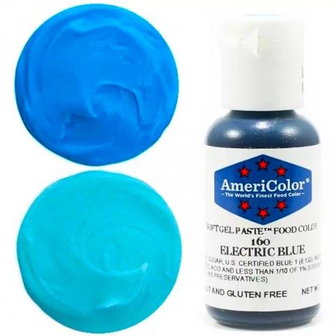 Краситель пищевой AmeriColor 21гр. ELECTRIC BLUE