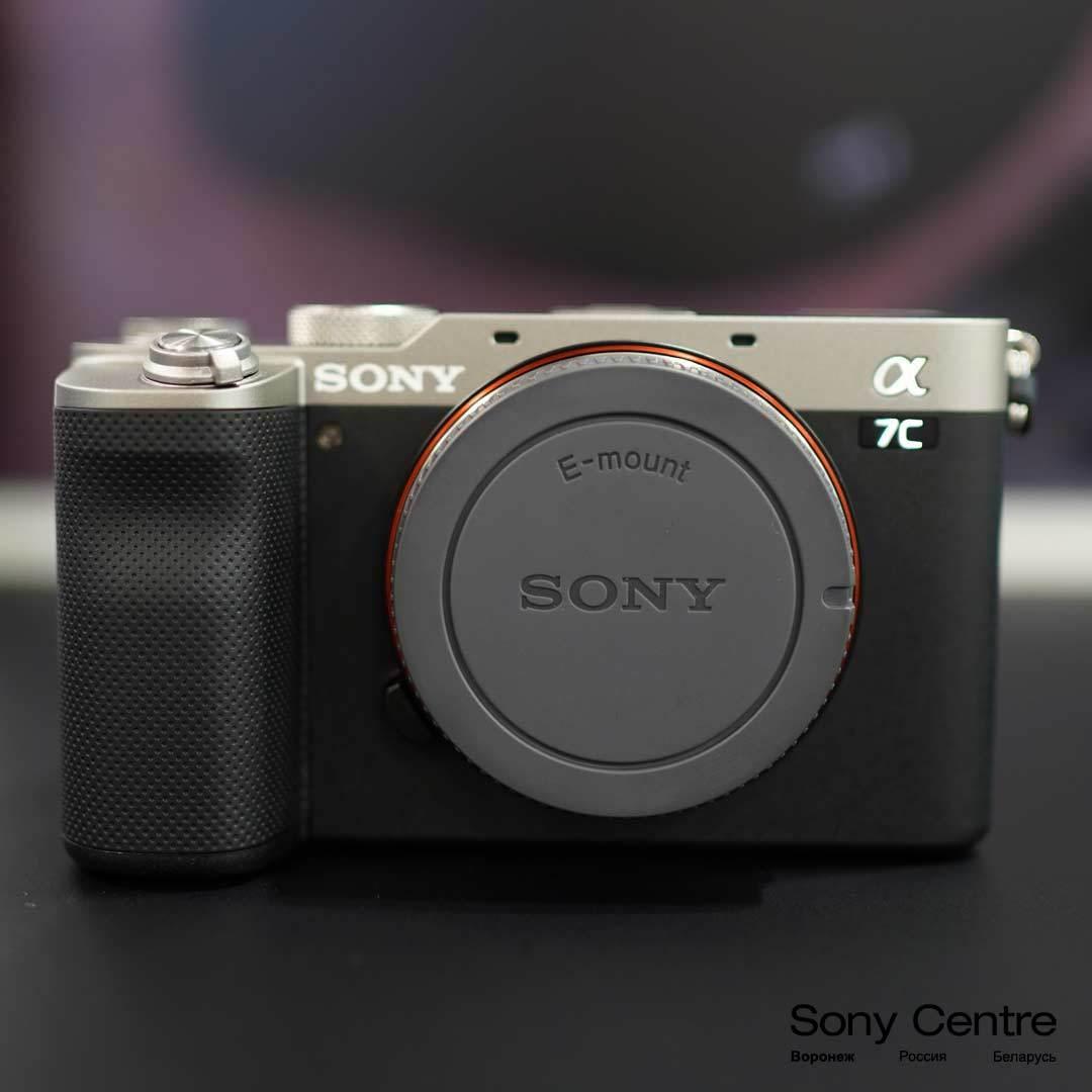Купить Sony A7C серебристый без объектива в интернет-магазине Sony Centre