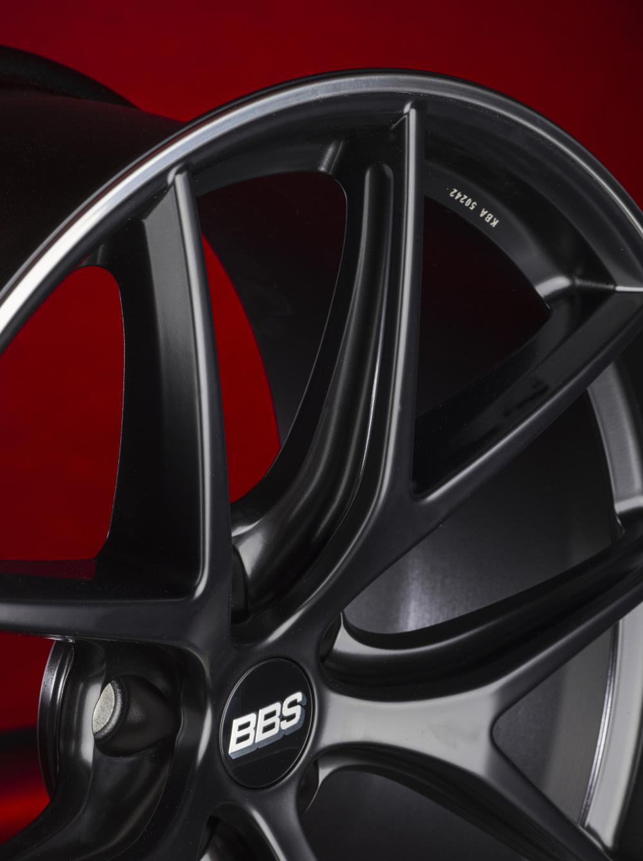 Диск колесный BBS CI-R 8x19 5x120 ET45 CB82.0 satin black
