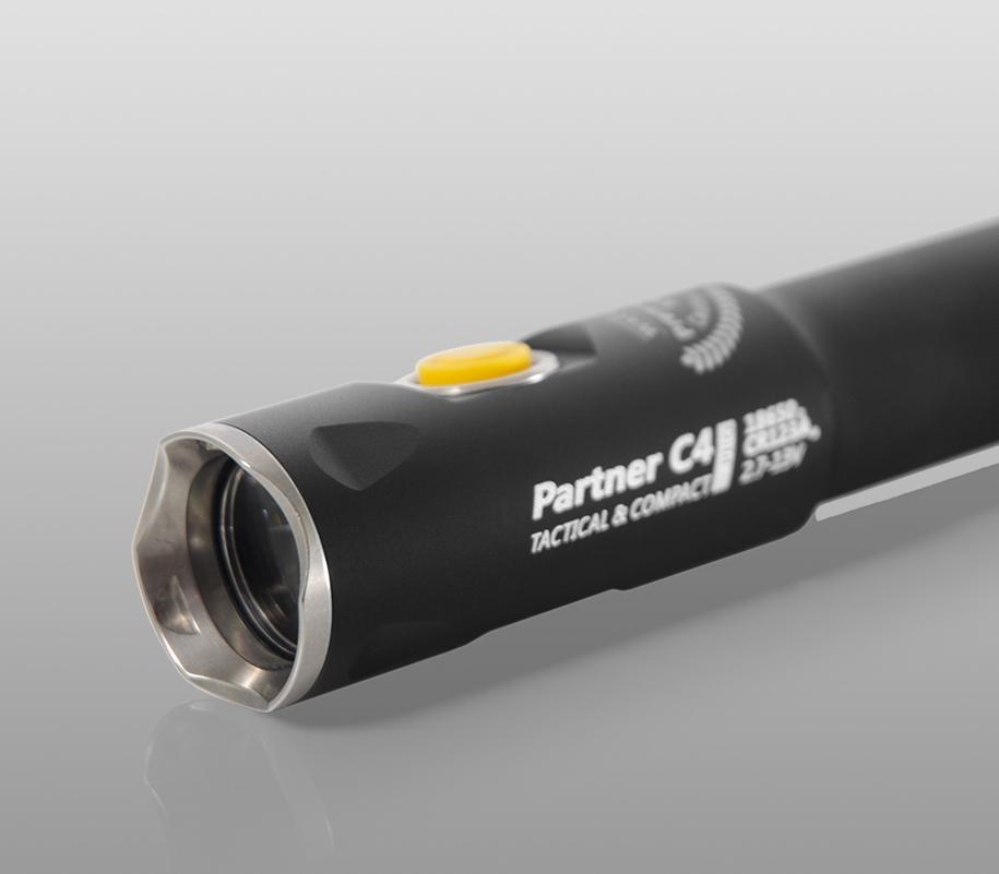 Тактический фонарь Armytek Partner C4 Pro (тёплый свет) - фото 7