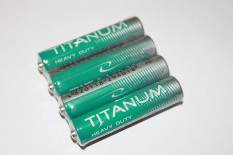 Батарейки Titanum R03, AAA (4/40)