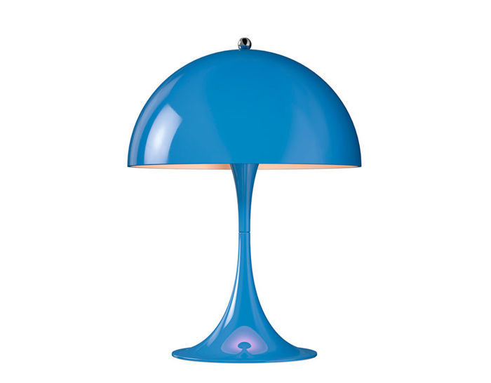 Настольный светильник копия Panthella by Verpan Panton (синий)