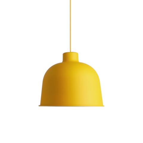 Подвесной светильник копия Grain by Muuto D21 (желтый)