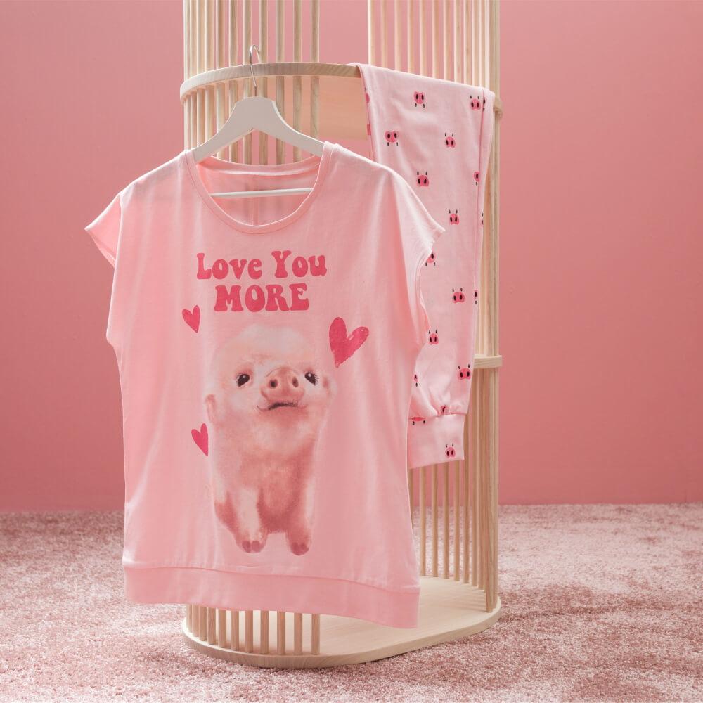 Детская женская пижама E21K-14P101