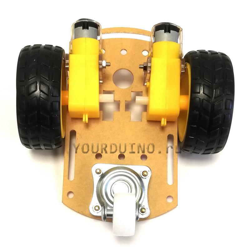 Шасси для 3-колесного робота