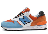 Кроссовки Мужские New Balance 670 Blue White Orange
