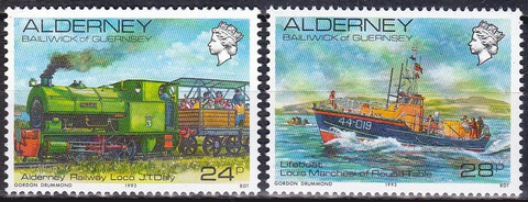 Alderney 1993 № 59-0 **MNH