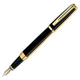 Waterman Exception Night&Day Gold GT перо золото 18Ct M (S0636890)