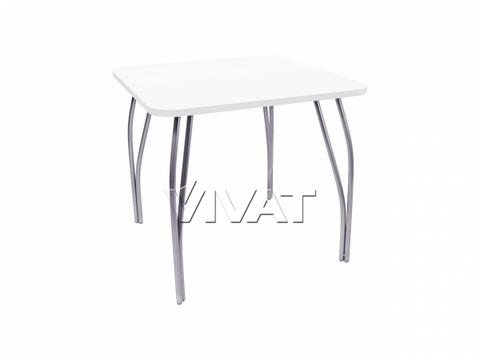 Стол обеденный квадратный LС (OC-11) Белое дерево