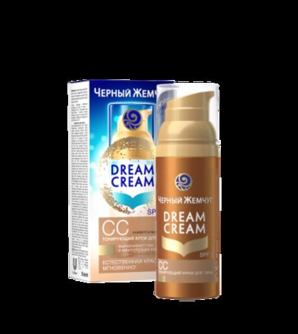 СС крем-вуаль для лица Dream Cream Чёрный Жемчуг