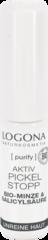 LOGONA Активное средство против высыпаний на лице с Био-Мятой и Салициловой кислотой из Коры Ивы