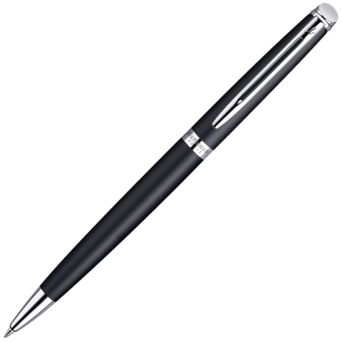 Waterman Hemisphere - Matt Black CT, шариковая ручка, M