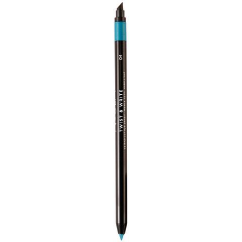Водостойкий карандаш для глаз №04 (насыщенный бирюзовый) NOUBA Twist&Write waterproof eye pencil
