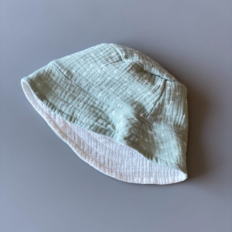 Панамка муслиновая двусторонняя
