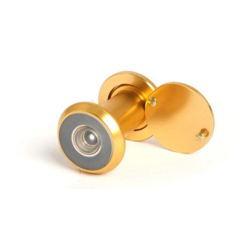 Глазок дверной Apecs 5016/30-55 золото, хром