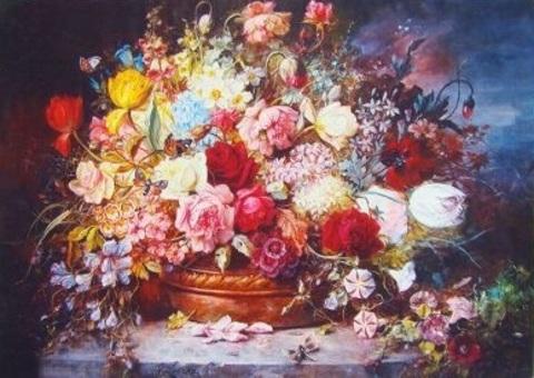 Алмазная Мозаика 40x50 Красивый букет цветов