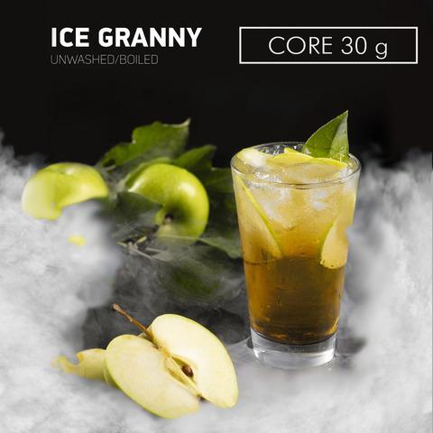 Табак Dark Side Core Ice Granny (Ледяное яблоко) 30 г