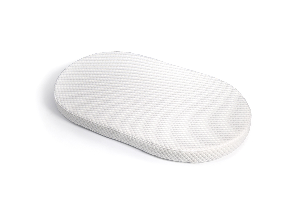 Овальный матрас для кроваток Sleepy 1230х740х80 беспружинный КОМФОРТ