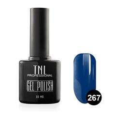 TNL, Гель-лак № 267 - глубокий синий (10 мл.)