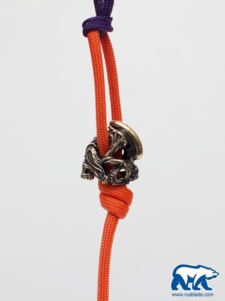"Custom Sword Knot ""Alien"" Limited Edition - фотография"