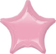 Воздушный шар Звезда (Розовая)