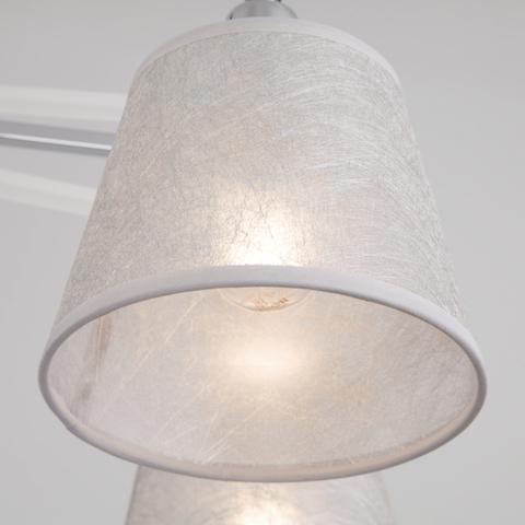 Потолочная люстра с поворотными рожками 60082/8 хром