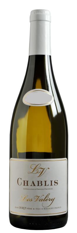 Вино Ле Валери Шабли бел.сух.з.н.м.п.рег.Шабли кат.АОР 0,75л