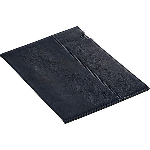 Папка уголок  эко кожа 1271 синий