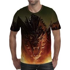 Футболка 3D принт, Дракон (3Д Dragon) 05