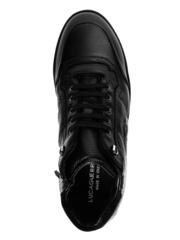 Высокие кожаные кроссовки Luca Guerrini 10375