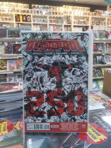 Deadpool #250 (c автографом Scott Koblish)