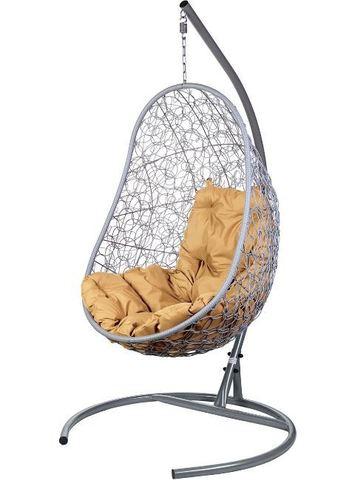 Кресло подвесное Ewerton Gray бежевая подушка