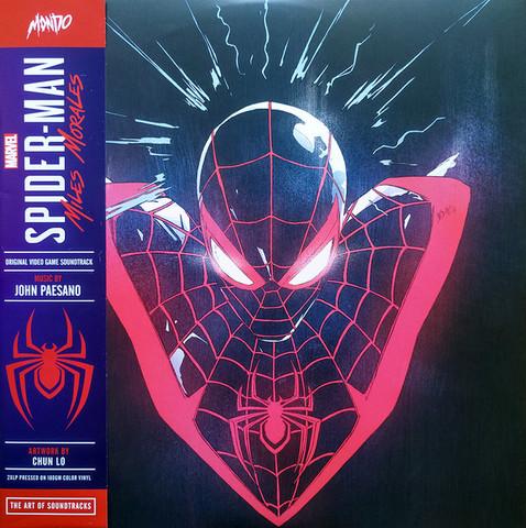 Виниловая пластинка. Marvel's Spider-Man: Miles Morales - Original Video Game Soundtrack 2XLP