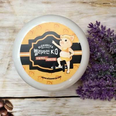 Подтягивающий детокс-крем для тела Elizavecca Belly Line K.O Double Action P.P Cream