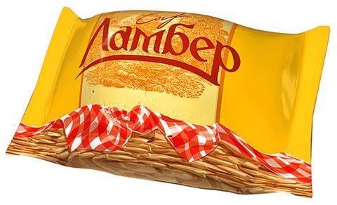 "Сыр ""Ламбер"" кусок 230г"