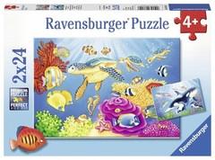 Puzzle Vibrance Under the Sea 2x24p