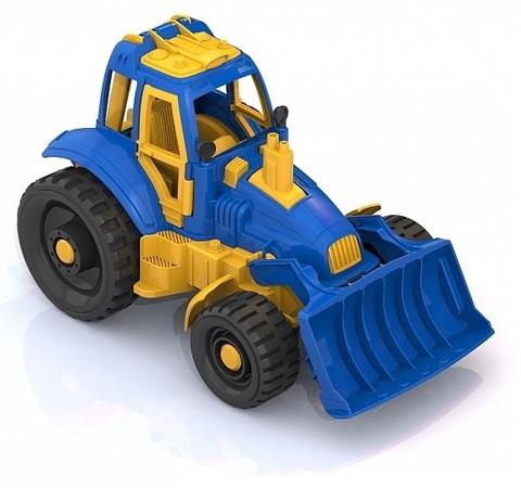 Трактор с грейдером