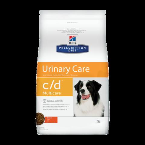 Hill's Prescription Diet c/d Multicare Urinary Care Сухой диетический корм для собак при лечении и профилактике мочекаменной болезни с курицей