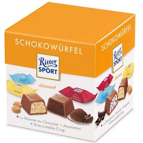 Подарочный набор Ritter Sport Choco Cubes dessert 176 гр