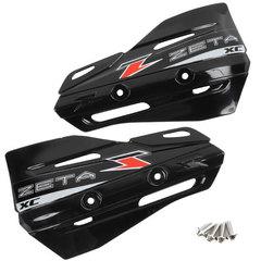 Лопухи для защиты рук Zeta XC, черный, ZE72-3106