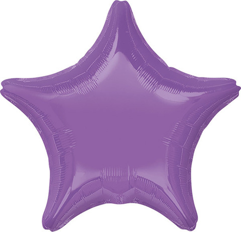 Воздушный шар Звезда (Фиолетовая)