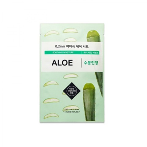 Маска тканевая для лица с алое Etude House Therapy Air Mask Aloe