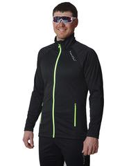 Элитная утеплённая лыжная куртка Nordski Elite Black 2019